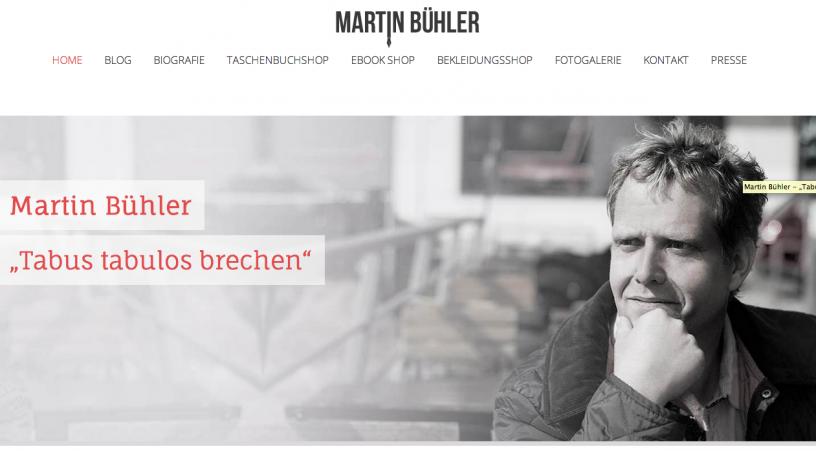 Autor Martin Bühler