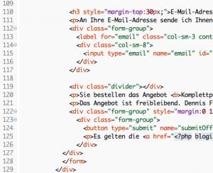 Unternehmensstudien - Quellcode