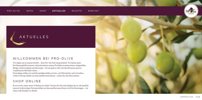 Pro-Olive Naturprodukte